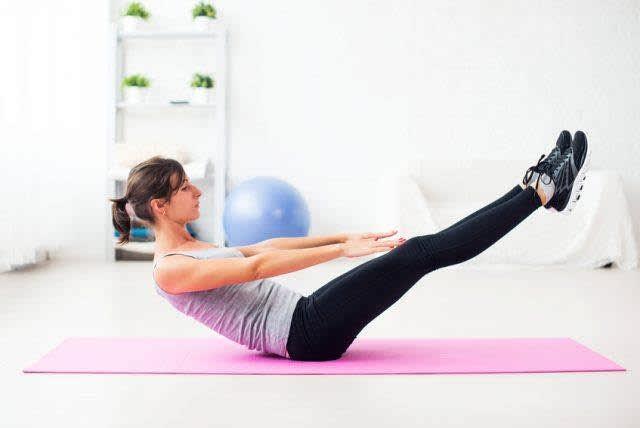 ورزش شکم پهلو